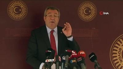"""CHP Grup Başkanvekili Engin Altay: - """" Hiç kimse ve hiçbir ülke Türkiye Cumhuriyeti'ne, aziz milletimize ve Türkiye Cumhuriyeti Cumhurbaşkanı'na ayar veremez, had bildirem..."""