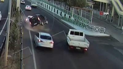 - Elazığ ve Bingöl'de trafik kazaları kameraya yansıdı