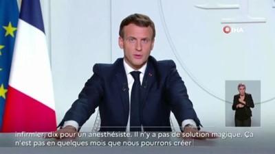 - Fransa'da Covid-19 nedeniyle sokağa çıkma yasağı ilan edildi - Macron: 'İkinci dalga birincisinden daha ölümcül olacak'