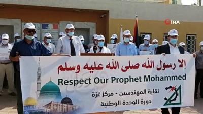 - Gazze halkından Fransa karşıtı gösteri