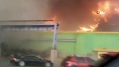 orman yangini -  Hatay'daki yangında hortum aracı uçurdu, içindeki iş kadını yaralandı