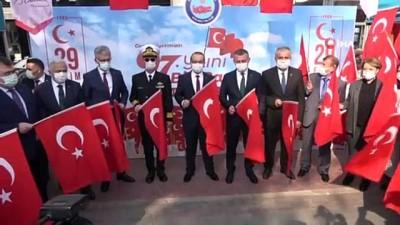peygamber -  Kocaeli dağıtılan 97 bin Türk bayrağı ile sokaklar kırmızı beyaza büründü
