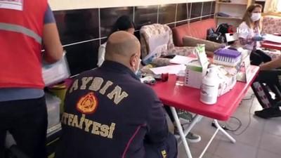 itfaiye muduru -  Nazilli'de alev savaşçılarından Kızılay'a kan desteği