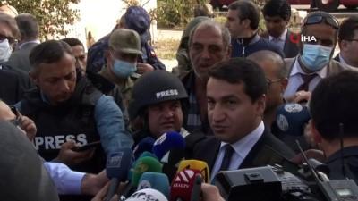 - Azerbaycan Cumhurbaşkanı Yardımcısı Hacıyev, Terter kentini ziyaret etti