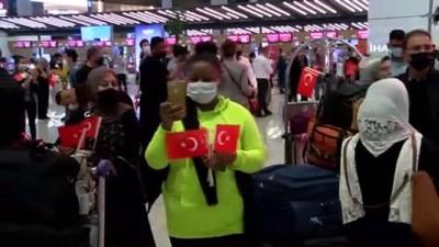 portre -  İstanbul Havalimanı'nda Cumhuriyet coşkusu