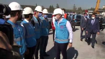 """Bakan Karaismailoğlu """"Kağıthane-İstanbul Havalimanı metro hattı Nisan 2021'de açılacak"""""""