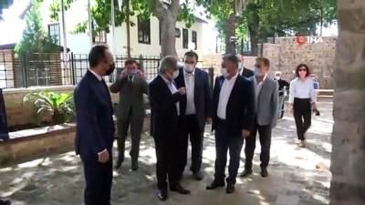 Kültür ve Turizm Bakan Yardımcısı Demircan'dan, Antalya Valisi Yazıcı'ya ziyaret
