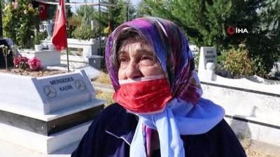 sinema filmi -  Mersedes Kadir'in annesi, oğlunun mezarı başında ağladı