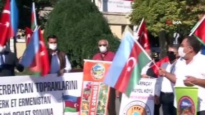 Sivil toplum örgütlerinden Azerbaycan'a destek