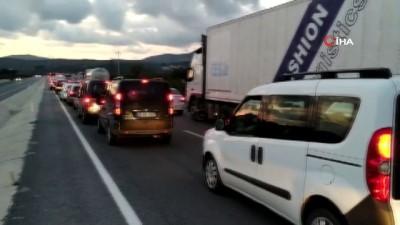 trafik yogunlugu -  Aydın-İzmir karayolunda deprem yoğunluğu