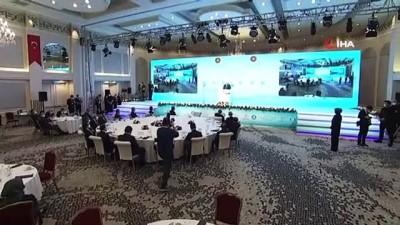 Cumhurbaşkanı Erdoğan: 'Dünya salgın karşısında mazlum ve mağdurlar adeta kaderlerine terk edildi. Türkiye olarak bu noktada gerçekten örnek bir tavır ortaya koyduk'