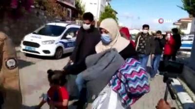 Kurtarılan göçmen: 'Türkiye cennet'