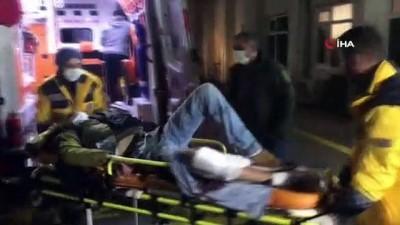 Husumetlileri pompalı tüfekle saldırdı
