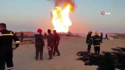 - Şii Haşdi Şabi örgütü: 'Boru hattındaki patlama hava saldırısı sonucu gerçekleşti'