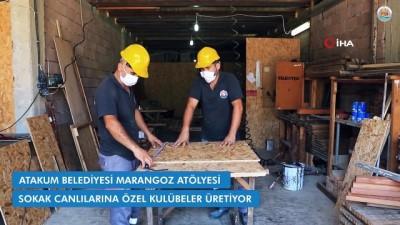 Atakum Belediyesi'nin üretim atölyesinde ilk kontrolü 'Leydi' yapıyor