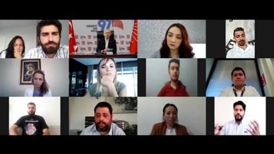 CHP Genel Başkanı Kılıçdaroğlu, SMA hastaları ve hasta yakınları ile görüştü - ANKARA
