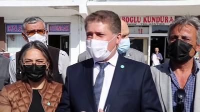 portre - İYİ Parti Orta İlçe Başkanlığına yapılan boyalı saldırı - ÇANKIRI