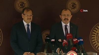 AK Parti Grup Başkanvekili Mehmet Muş, basın mensuplarının sorularını cevapladı