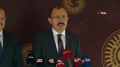 """AK Parti Grup Başkanvekili Mehmet Muş: """"Boru hatlarıyla ulaşımın zor olduğu illerimiz var. Buradaki vatandaşlarımızın doğalgaza ulaşımı için LNG ve CNG kullanılmasının önünü açıyoruz.'"""