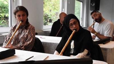 Danimarka Türk Diyanet Vakfının ney kursuna ilgi yoğun - KOPENHAG