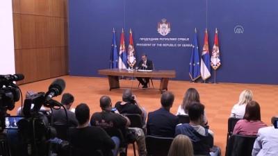 secimin ardindan - Sırbistan Başbakanı Brnabic, 2'nci kez hükümeti kurmakla görevlendirildi - BELGRAD