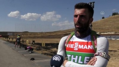 Türkiye rekortmeni biatloncu Zana Öztunç, gözünü olimpiyatlara dikti - ERZURUM
