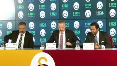 voleybol takimi - Galatasaray erkek ve kadın voleybol takımına yeni sponsor