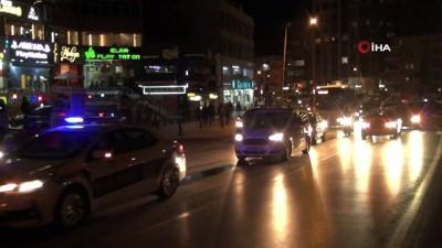 Niğde'de Azerbaycan'a destek konvoyu yapıldı