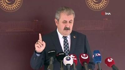 """soykirim -  - BBP Genel Başkanı Mustafa Destici:""""Azerbaycan'da yaşayan kardeşlerimizin, bizim için Erzurum'da, Kars'ta, Iğdır'da yaşayan vatandaşlarımızdan hiçbir farkı yoktur"""""""
