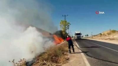 Mardin'de otomobil yüksek gerilim hattı direğine çarptı: 1 yaralı