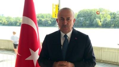 """- Çavuşoğlu, """"Yunanistan'la istikşafi görüşmelerin yapılmasında mutabık kaldık"""""""