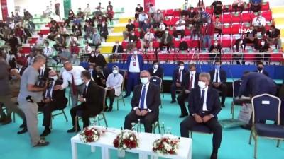 Diyarbakır Büyükşehir Belediyesi'nden amatör sporculara malzeme yardımı