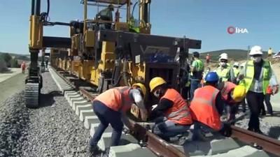 yuksek hizli tren -  Türkiye örümcek ağı gibi demir ağlarla örülüyor