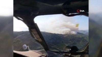 2008 yili -  Aydıncık'da orman yangını