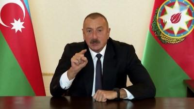 - Azerbaycan Cumhurbaşkanı İlham Aliyev: 'Ermenistan bizim önümüzde acizdir, bizim önümüzde diz çökmüştür, biz topraklarımızı ya müzakere süreciyle ya da savaş yoluyla geri alacağız.'