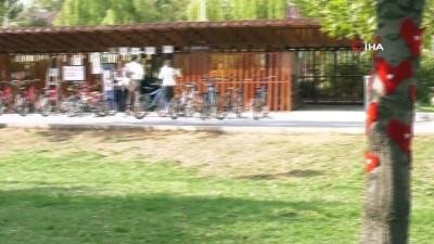 Başkent parklarına kadın dokunuşu