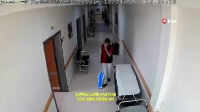 saglik calisani -  Sağlık çalışanının telefonunu çalan hırsız kamerada