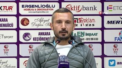 istanbulspor - İlker Püren: 'Ligdeki konumumuzu yukarıya taşıyacağımızı düşünüyorum'