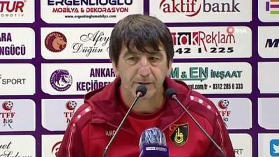 istanbulspor - Orhan Çıkırıkçı: 'Önümüzdeki haftalarda inşallah kaybettiğimiz puanları telafi edeceğiz'