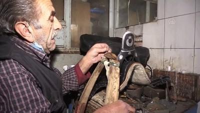 halk egitim - 76 yaşındaki saraç ustası mesleğini yaşatmak için zamana direniyor - ERZİNCAN