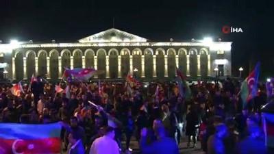 bayram havasi -  Azerbaycan'da tarihi gecede zafer kutlamaları sabaha kadar devam etti