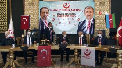 """meclis uyesi -  BBP Genel Başkan Yardımcısı Ürgüp, """"Sivas genel merkezde güçlü bir şekilde temsil edilecek"""""""