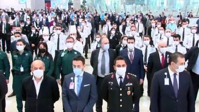 İstanbul Havalimanı'nda 10 Kasım anma töreni