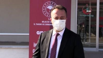 demirli -  3 bin adet 'Gıdanı Koru' yazılı bez maske dağıtıldı
