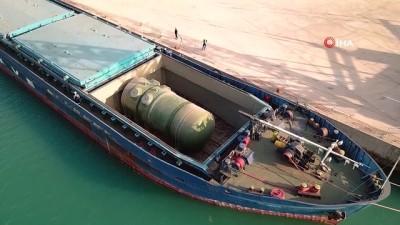 Birinci ünitenin reaktör basınç kabı Akkuyu NGS'ye ulaştı