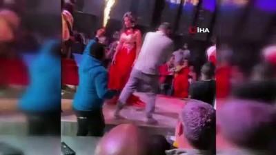 skandal -  Esenyurt'ta koronayı hiçe sayan skandal görüntüler: Gece kulübünde 'Miss Uganda' güzellik yarışması