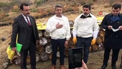 demirli -  Terörün kökünün kazındığı bölgede organik bal hasadına başlandı