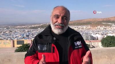 - Suriye'de inşa edilen briket evler havadan görüntülendi - İHH Başkan Yıldırım: 'Suriye'de 10 binden fazla ev inşa ettik'