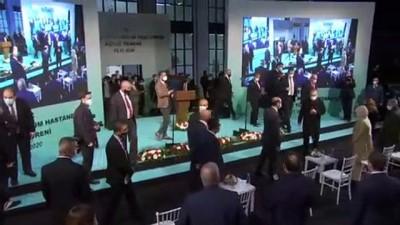 KKTC Sağlık Bakanı Ali Pilli, Lefkoşa Acil Durum Hastanesinin açılışında konuştu