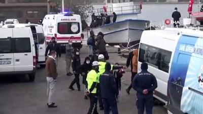Bu tekneden kaçak 115 göçmen çıktı